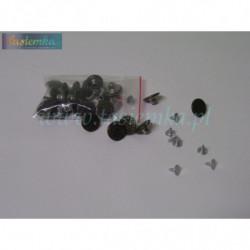 Guzik metal mały 1,5 oxyda kod 8048