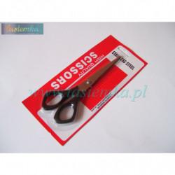 nożyczki małe 160mm- czarna rączka kod 1042