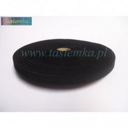 guma 1,5 płaska czarna kod 1334