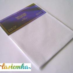 kanwa biała  40 ocz - tkanina do haftu kod 3162