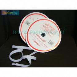 rzep 16 mm biały kod 1081