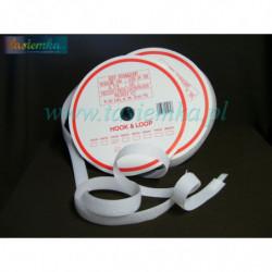 rzep 25 mm biały kod 8102
