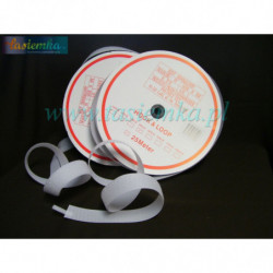rzep 30 mm biały kod 8104