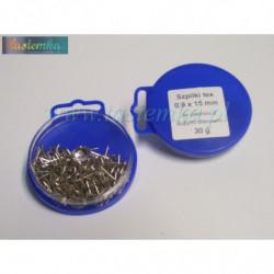 zatrzask metal 2/0 srebrny, kod 2073
