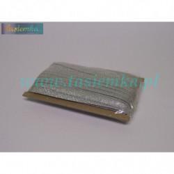 lamówka brokat 15 srebrny kod 5014