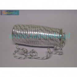 sznurek FI-7/2PF srebrno-biały 8106
