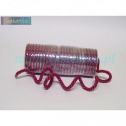 sznurek FI-7 kol 319 wiśnia 1031