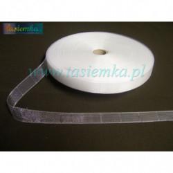 taśma cyrkoniowa 3cm kol srebrny kod 0120