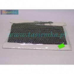 taśma dekoracyjna TS16 srebrno-czarna kod 0099