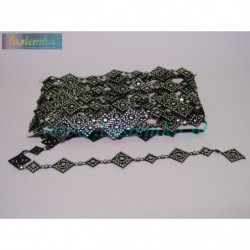 taśma dekoracyjna TD267 perła duża biała kod 2256