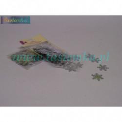 dżety Ozdoby samoprzylepne kwiatek multikolor DZ55 kod 0094