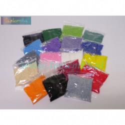 koraliki szklane mix kolorów kod 1005