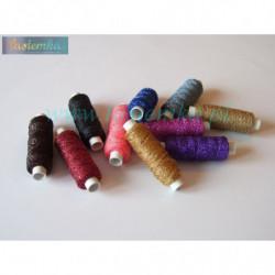 nici - sznurek metalizowany kol 1111 MIX kolorów 5052