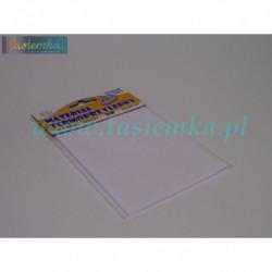 materiał termoprzylepny łatka pościelowa - biała