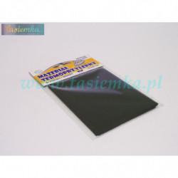 materiał termoprzylepny łatka pościelowa - czarna