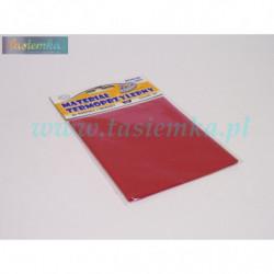 materiał termoprzylepny łatka pościelowa - czerwony