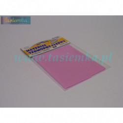 materiał termoprzylepny łatka pościelowa - róż jasny