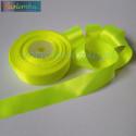 wstążka kropki 1,2cm - żółty