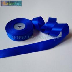 wstążka kropki 2,5cm - błękit