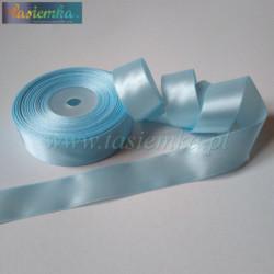 wstążka kropki 2,5cm - fiolet