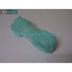 sznurek bawełniany mięta