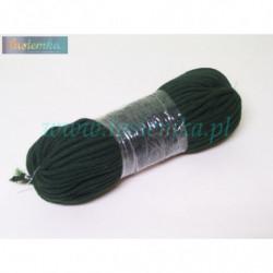 sznurek bawełniany ciemna zieleń