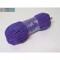 sznurek bawełniany jasny  fiolet