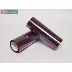 wstążka kratka 2,5cm - fiolet ciemny (szeroka)