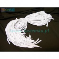 sznurowadła płaskie białe 120 kod 1120