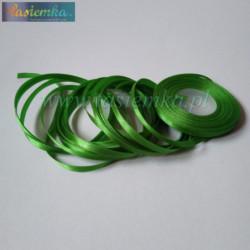 tasiemka atłas 6 mm - A102 Emerald