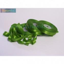 tasiemka atłas 13 mm - zielony OC063