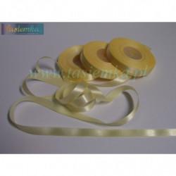 tasiemka atłas 26 mm - żółty A012