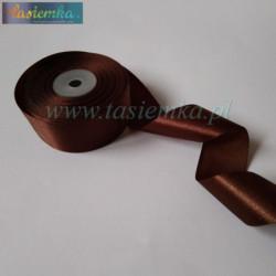 tasiemka atłas 38 mm - A025 Brown