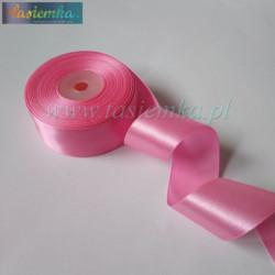tasiemka atłas 38 mm - A037 Hot Pink