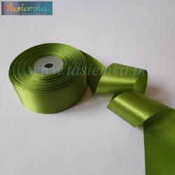 tasiemka atłas 38 mm - zielony OC108