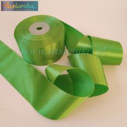 tasiemka atłas 50 mm - zielony OC063