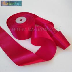 tasiemka atłas 50 mm - czerwony OC048