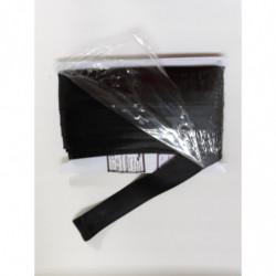 lamówka atłas 25mm czarna