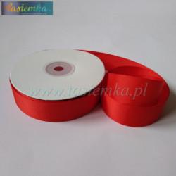 tasiemka rypsowa 25mm czerwona 1448
