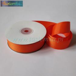 tasiemka rypsowa 25mm pomarańcz 1563