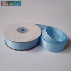 tasiemka rypsowa 25mm błękit 1462