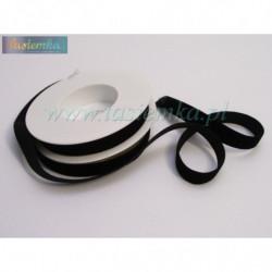 aksamitka 16mm czarna