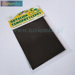 łatka ortalionowa kol czarny