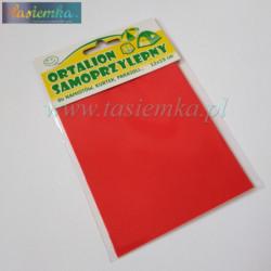łatka ortalionowa kol czerwony