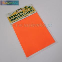 łatka ortalionowa kol pomarańczowy