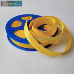 lamówka atłas 15 mm kol 56a żółty