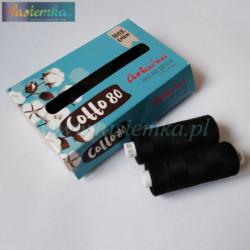 nici bawełniane cotto 80 kol 099 czarne