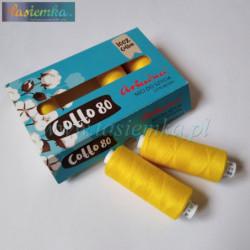 nici bawełniane cotto 80 kol 1505 żółty