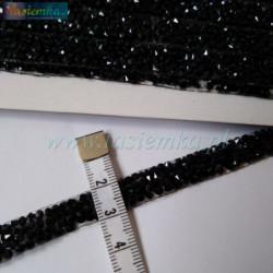 Wstążka brokat 3,8 cm kol srebrny kod 7059