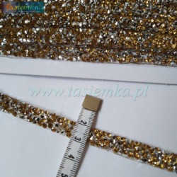 Wstążka brokat 5,0 cm kol srebrny kod 7058
